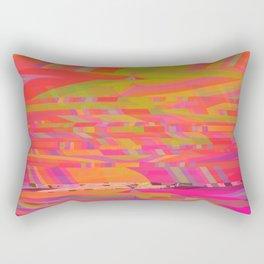 Rainbow Storms Rectangular Pillow