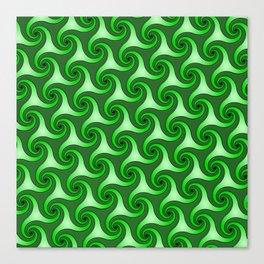 Spiral Triskeles Canvas Print
