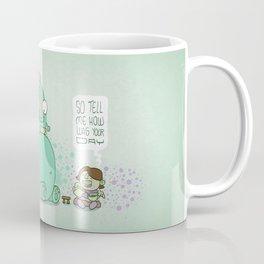 Monster and Tea Coffee Mug