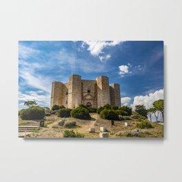 Castel del Monte Metal Print