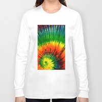 hippie Long Sleeve T-shirts featuring HIPPIE by Maioriz Home
