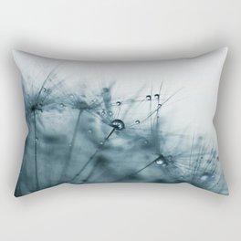 dandelion blue VIII Rectangular Pillow