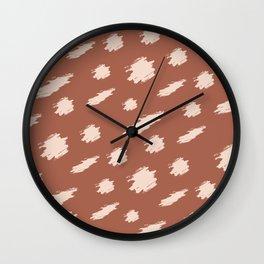 Baesic Cheetah Spots Wall Clock