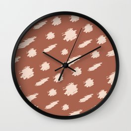 Baesic Cheetah Spots Wall Clock