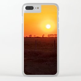Evening Snack Clear iPhone Case