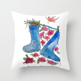 Find Your Home Throw Pillow