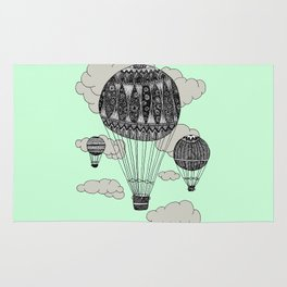 Hot Air Ballooning Rug