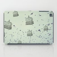 cage iPad Cases featuring cage free by Beverly LeFevre
