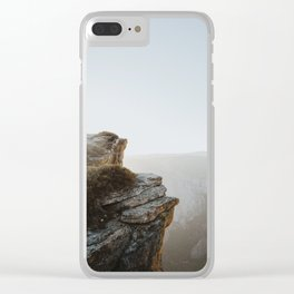 Taft Point, Yosemite Clear iPhone Case