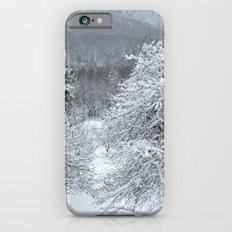 Vermont Winter Habitat in Snow iPhone 6s Slim Case