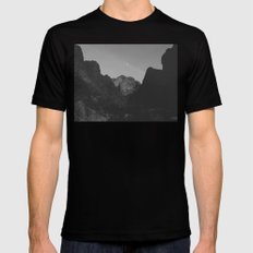 Palm Canyon MEDIUM Mens Fitted Tee Black