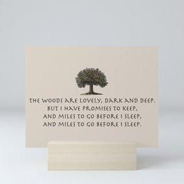 The Woods Mini Art Print