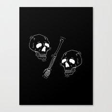 Skull VS Skull Canvas Print