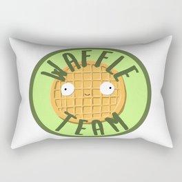 Waffle Team Rectangular Pillow