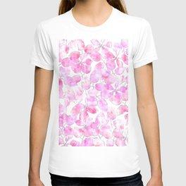 Watercolor Floral VVIII T-shirt