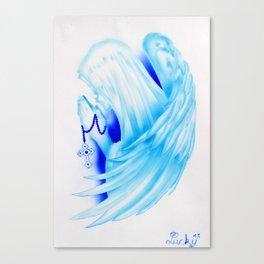Santa Maria con ali Canvas Print