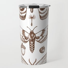 Natural History (Brown) Travel Mug