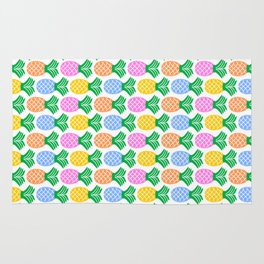Pineapple Pattern Rug