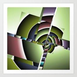 geometric pattern -3- Kunstdrucke