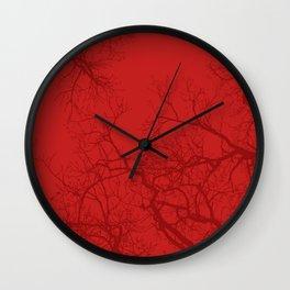 Trees 9 Wall Clock