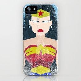 Wonder Grunge Woman iPhone Case