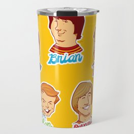 Alan & Dennis & Brian & Mike & Carl Travel Mug