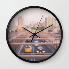 Brooklyn Bound Wall Clock