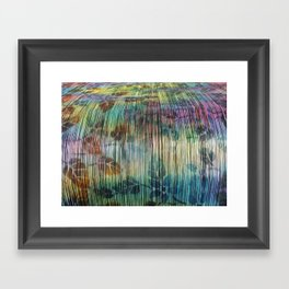 Loom Framed Art Print