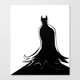 Monochrome Shadow Canvas Print