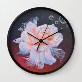 Rosefish Wall Clock