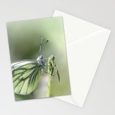 Green-veined White Stationery Cards