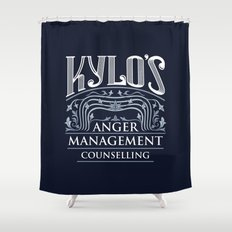 Kylo's Anger Management Counselling Shower Curtain