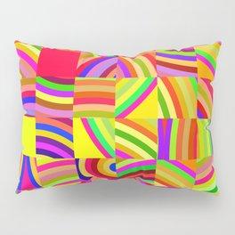 Retro Pixels Pillow Sham
