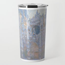 Monet, Rouen Cathedral Series, west facede (La Cathédrale de Rouen) Travel Mug
