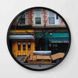 Bleecker St Wall Clock
