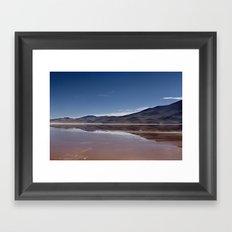 Natural mirror Framed Art Print