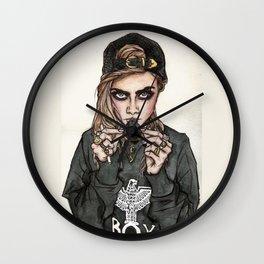 Cara Delevingne x Terry Richardson Wall Clock