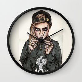 Cara Delevingne x Terry Richardson Wall Clock