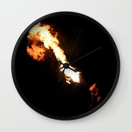 Fire Breather Wall Clock