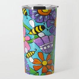 Springtime Series #4 Bee's Travel Mug