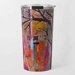Finding My Way (The Path to Self Discovery/Actualization) Travel Mug