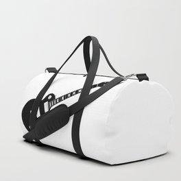 Black Guitar Duffle Bag