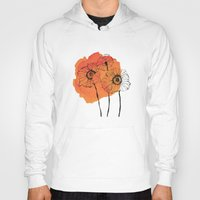 poppies Hoodies featuring poppies by morgan kendall