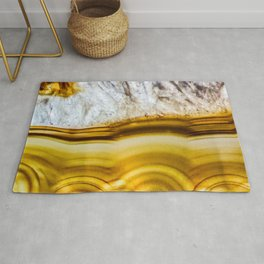 Amber Honey Agate Earth Rug