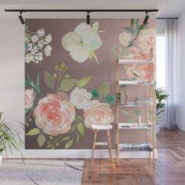 Flower Pattern Wall Mural