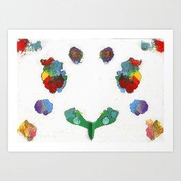 Beat Symmetry Art Print