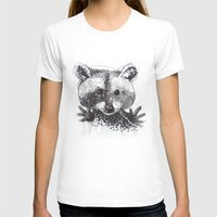 racoon T-shirts featuring Racoon by Faustine BLESSON