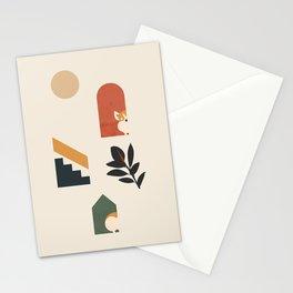 Hide and Seek Corgi Stationery Cards