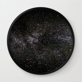 Milky Way Stars Wall Clock