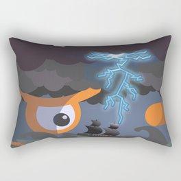 tempest at sight Rectangular Pillow
